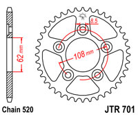80 Kmh JT Front Sprocket JTF394 13 Teeth fits Aprilia 125 RS -Germany 97-03